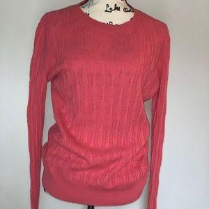 Banana Republic filpucci pink sweater
